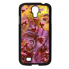Falling Autumn Leaves Samsung Galaxy S4 I9500/ I9505 Case (black) by Contest2489503