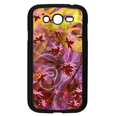 Falling Autumn Leaves Samsung Galaxy Grand Duos I9082 Case (black) by Contest2489503