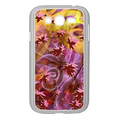 Falling Autumn Leaves Samsung Galaxy Grand Duos I9082 Case (white) by Contest2489503