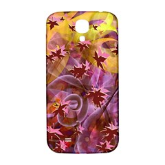 Falling Autumn Leaves Samsung Galaxy S4 I9500/i9505  Hardshell Back Case by Contest2489503