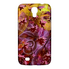Falling Autumn Leaves Samsung Galaxy Mega 6 3  I9200 Hardshell Case by Contest2489503