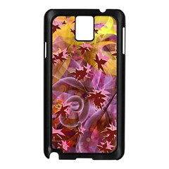 Falling Autumn Leaves Samsung Galaxy Note 3 N9005 Case (black) by Contest2489503
