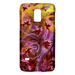 Falling Autumn Leaves Galaxy S5 Mini by Contest2489503
