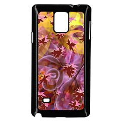 Falling Autumn Leaves Samsung Galaxy Note 4 Case (black) by Contest2489503