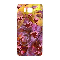 Falling Autumn Leaves Samsung Galaxy Alpha Hardshell Back Case by Contest2489503