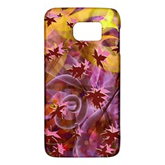 Falling Autumn Leaves Galaxy S6 by Contest2489503