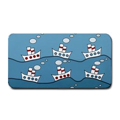Boats Medium Bar Mats by Valentinaart