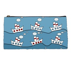 Boats Pencil Cases by Valentinaart
