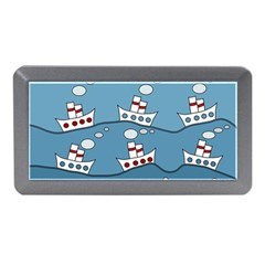 Boats Memory Card Reader (mini) by Valentinaart