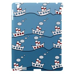 Boats Apple Ipad 3/4 Hardshell Case (compatible With Smart Cover) by Valentinaart