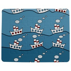 Boats Jigsaw Puzzle Photo Stand (rectangular) by Valentinaart