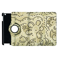 Floral Decor  Apple Ipad 3/4 Flip 360 Case by Valentinaart