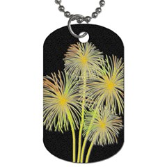 Dandelions Dog Tag (one Side) by Valentinaart