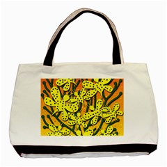 Bees Basic Tote Bag (two Sides) by Valentinaart