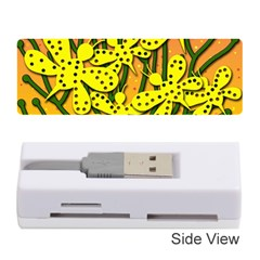 Bees Memory Card Reader (stick)  by Valentinaart