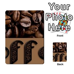 Funny Coffee Beans Brown Typography Multi Purpose Cards (rectangle)  by yoursparklingshop