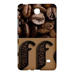 Funny Coffee Beans Brown Typography Samsung Galaxy Tab 4 (7 ) Hardshell Case  by yoursparklingshop
