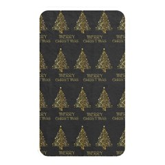 Merry Christmas Tree Typography Black And Gold Festive Memory Card Reader by yoursparklingshop