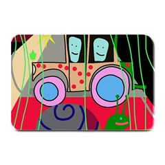 Tractor Plate Mats by Valentinaart