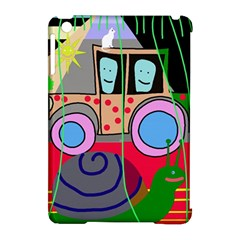 Tractor Apple Ipad Mini Hardshell Case (compatible With Smart Cover) by Valentinaart