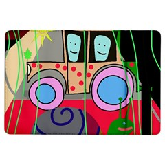 Tractor Ipad Air Flip by Valentinaart