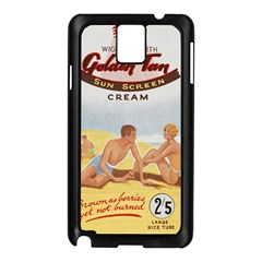 Vintage Summer Sunscreen Advertisement Samsung Galaxy Note 3 N9005 Case (black) by yoursparklingshop