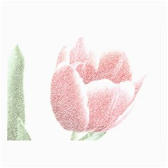 Red Tulip Pencil Drawing Collage Prints by picsaspassion