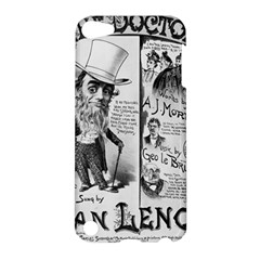 Vintage Song Sheet Lyrics Black White Typography Apple Ipod Touch 5 Hardshell Case by yoursparklingshop