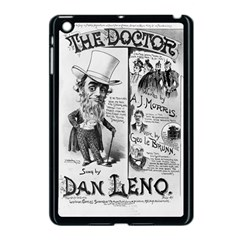 Vintage Song Sheet Lyrics Black White Typography Apple Ipad Mini Case (black) by yoursparklingshop