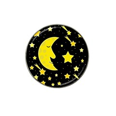 Sleeping Moon Hat Clip Ball Marker (4 Pack) by Valentinaart