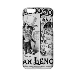 Vintage Song Sheet Lyrics Black White Typography Apple Iphone 6/6s Hardshell Case by yoursparklingshop