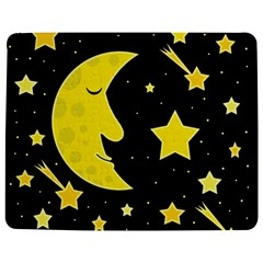 Sleeping Moon Jigsaw Puzzle Photo Stand (rectangular) by Valentinaart