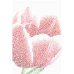 Tulip Red Pencil Drawing Art 5 5  X 8 5  Notebooks by picsaspassion