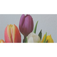 Tulips You Are Invited 3d Greeting Card (8x4) by picsaspassion