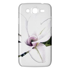 White Magnolia Pencil Drawing Art Samsung Galaxy Mega 5 8 I9152 Hardshell Case  by picsaspassion
