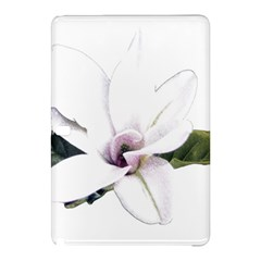 White Magnolia Pencil Drawing Art Samsung Galaxy Tab Pro 10 1 Hardshell Case by picsaspassion
