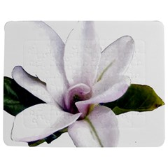Magnolia Wit Aquarel Painting Art Jigsaw Puzzle Photo Stand (rectangular)