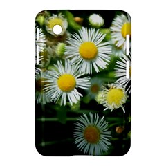 White Summer Flowers Oil Painting Art Samsung Galaxy Tab 2 (7 ) P3100 Hardshell Case  by picsaspassion