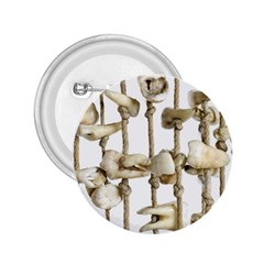 Hanging Human Teeth Dentist Funny Dream Catcher Dental 2 25  Buttons by yoursparklingshop