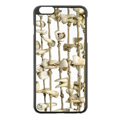 Hanging Human Teeth Dentist Funny Dream Catcher Dental Apple Iphone 6 Plus/6s Plus Black Enamel Case by yoursparklingshop