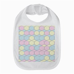 Colorful Honeycomb - Diamond Pattern Bib by picsaspassion