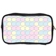 Colorful Honeycomb   Diamond Pattern Toiletries Bags 2 Side by picsaspassion