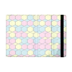 Colorful Honeycomb   Diamond Pattern Apple Ipad Mini Flip Case by picsaspassion