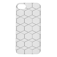 Honeycomb   Diamond Black And White Pattern Apple Iphone 5s/ Se Hardshell Case by picsaspassion