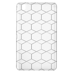 Honeycomb   Diamond Black And White Pattern Samsung Galaxy Tab Pro 8 4 Hardshell Case