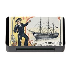 Vintage Advertisement British Navy Marine Typography Memory Card Reader With Cf by yoursparklingshop