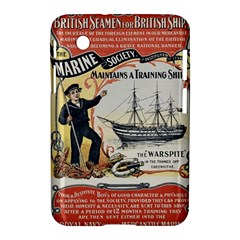 Vintage Advertisement British Navy Marine Typography Samsung Galaxy Tab 2 (7 ) P3100 Hardshell Case  by yoursparklingshop