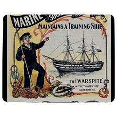 Vintage Advertisement British Navy Marine Typography Jigsaw Puzzle Photo Stand (rectangular) by yoursparklingshop