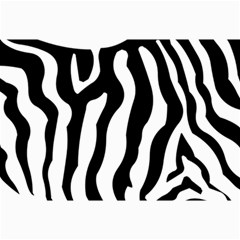 Zebra Horse Skin Pattern Black And White Collage Prints