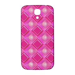 Pink Sweet Number 16 Diamonds Geometric Pattern Samsung Galaxy S4 I9500/i9505  Hardshell Back Case by yoursparklingshop